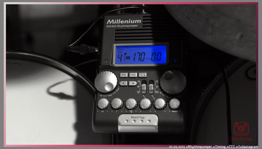 10.03.2013 #Rhythmpumper #Timing #TTT #Tulipstagram
