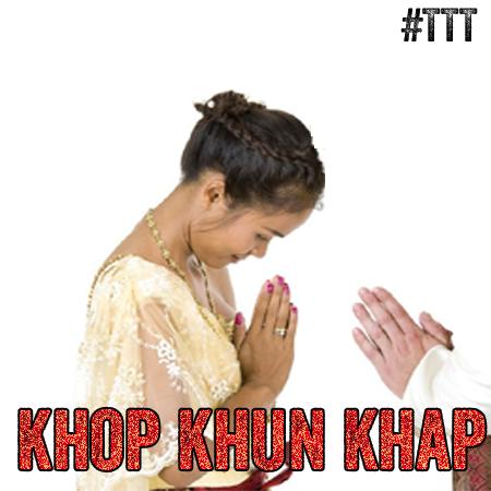 Khop khun khap! Danke #Icon #TTT #Tulipstagram